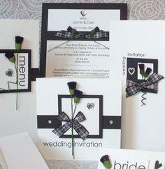 Scottish wedding invitations and more.