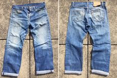 Fade-of-the-Day---Levi's-501-STF-(3-Years,-Unknown-Washes)-front-back