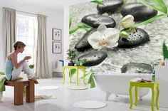 murales de pared, impresiones digitales y diseños foto wallpaper para decoración de la pared moderna