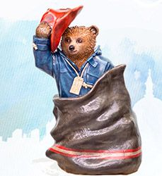 Paddington Trail Bears - Celebrity Designers & More - visitlondon.com Special Delivery by Ben Whishaw
