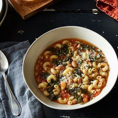 Pasta, Beans, and Bread Hold Each Other Gently In This Brothy Tuscan Soup on Food52