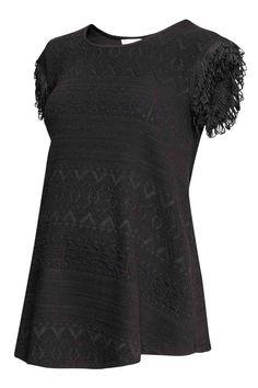 MAMA Top à motif texturé | H&M