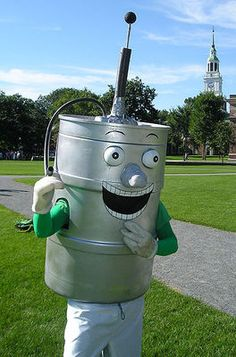 Keggy the Keg (The only mascot in the country that is a keg. Way to go, Dartmouth College.)