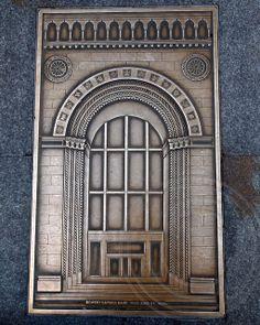 All sizes | 110 EAST 42ND STREET BOWERY SAVINGS BANK 1921 Bronze Relief by Gregg LeFevre, 101 Park Avenue Sidewalks, Midtown Manhattan, New ...