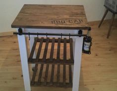 62 ideas upcycled furniture ikea kitchen carts for 2019 Metal Patio Furniture, Upcycled Furniture, Kitchen Furniture, Pallet Furniture, Ikea Butcher Block, Butcher Block Kitchen, Ikea Bar, Ikea Kitchen Cart, Kitchen Decor