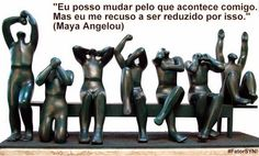 #VONTADE _ Shine Your Nature _ #Fator SYN!  imagem: escultura de Margarita Farré