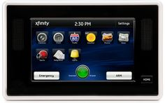 Xfinity Home Security In-home Touchscreen