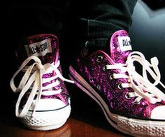 I think I need a pair of sequin chuck taylors