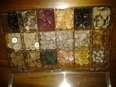 """Vintage Buttons! """"over 500"""" check my auction out."""