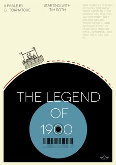 The Legend Of 1900 ( A.D.D ) cool poster of it