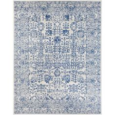 Hillsby Navy Area Rug & Reviews | Joss & Main