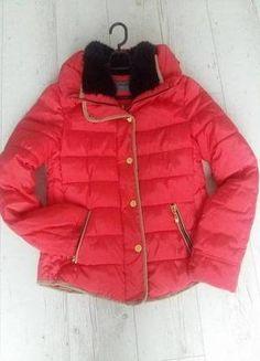 Kup mój przedmiot na #vintedpl http://www.vinted.pl/damska-odziez/kurtki/15131328-pikowana-kurtka-s-malinowa-rozowa-jesien-zima