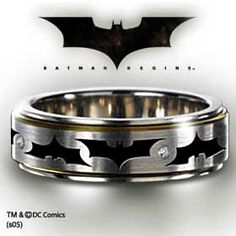 I might have to get this for my future husband! Cause my future husband WILL love Batman!