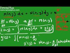 Ecuación diferencial exacta 2