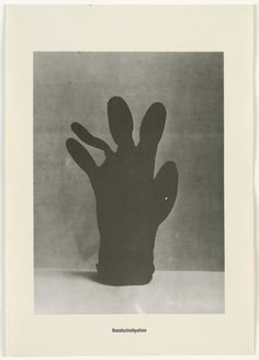 Sigmar Polke, Christof Kohlhöfer | Glove Palm Tree | One of a series of 14 photo lithographs from the Palm Tree Series | 1968