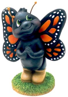 Marcus the Monarch, Butterfly Resin Collectible, individually numbered. by KindnessBug on Etsy