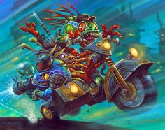 Card Name: Smugglers Run Artist: Alex Orlandelli Horley World Of Warcraft, Warcraft Art, Hearthstone Heroes, Blizzard Hearthstone, Fantasy World, Fantasy Art, Wow Art, Video Game Art, Amazing Art
