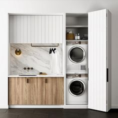"2,801 Likes, 70 Comments - Scandinavian Colour + Design (@designstuff_group) on Instagram: ""// TRENDING: The Micro Laundry ✔️... With appliances getting smaller + smarter, and designs like…"""