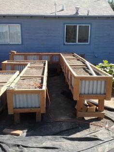 New garden boxes for next spring