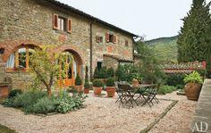 Chianti region villa