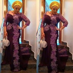 Yes, we are super back with stylish and trendy Aso-Ebi style looks! We are kick-starting the year with over amazing designs you can rock to 2017 weddings. Aso Ebi Styles, Ankara Styles, Lovely Dresses, Formal Dresses, Shweshwe Dresses, African Fashion, Nigerian Fashion, Fashion Forward, Asos