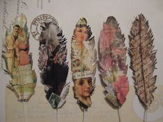 Items similar to Paper Feather Love PDF Tutorial DIY Feather on Etsy Feather Crafts, Feather Art, Altered Books, Altered Art, Sheet Music Crafts, Old Book Crafts, Paper Feathers, Paper Art, Paper Crafts