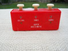 Vintage Super-Add-A-Matic Budget Keeper by UncleJimmysAttic