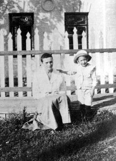 Tatiana in Tobolsk with an unidentified child.