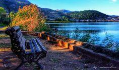 Καστορια Λιμνη Ορεστιαδα #checkin #trivago #Kastoria Places In Greece, Greek, Outdoor Decor, Macedonia Greece, Beautiful, Rivers, Lakes, Animals, Animales
