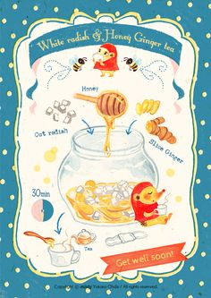 Cooking Basics for Beginners Recipe Drawing, Cold Remedies, Food Drawing, Food Illustrations, Cute Food, Cute Illustration, Food Menu, Food Design, Food Art