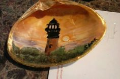 Currituck light on the half shell