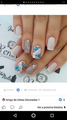 Hot Nails, Hair And Nails, Hot Nail Designs, Nail Art Techniques, Makeup Must Haves, Elegant Nails, Nail Tutorials, Nails Inspiration, Triangles