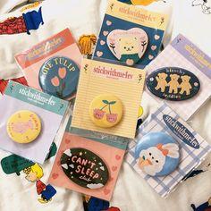 Sticker Shop, Sticker Design, Cute Packaging, Packaging Design, Arte Shop, Artist Alley, Cute Pins, Animes Wallpapers, Clay Art