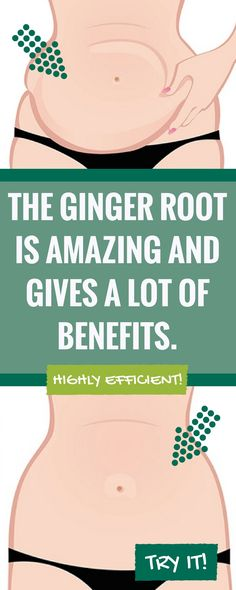 The ginger root is amazing and gives a lot of benefits. Treatment consisting of ginger as a main ingredient may be highly efficient!