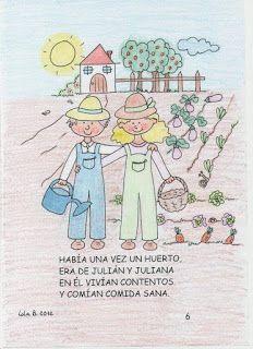 Nuestro Huerto Escolar Hispanidad Elx Cuento El Huerto De Julián Y Juliana Huertos Escolares Cuentos Huerto
