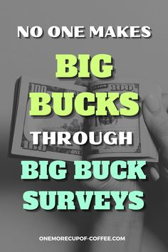 The main thing about Big Buck Surveys is you get flooded with ads even before you get the chance to do anything. They seem to be centered on these offers from which they are obviously benefiting from. See here why no one makes big bucks through this survey site. #surveys #online #income Make Money Online Surveys, Online Income, Email Marketing Companies, Virtual Jobs, Affiliate Websites, Challenges To Do, Survey Sites, How To Get Money, Extra Money