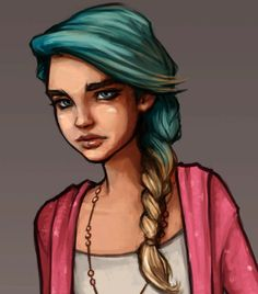 Saga from Dreamfall Chapters. concept art by Christer Sveen Character Inspiration, Character Design, The Longest Journey, Awesome Anime, Classical Music, Anime Stuff, Cute Designs, Saga, Concept Art