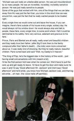 One of Michael Jackson's bodyguards, Big E, speaks about working with Michael. http://t.co/7VdSPMDKH9 Embedded image permalink