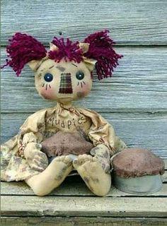 ♥♥la soffitta di swamy♥♥:CARTAMODELLO bambola PRIMITIVE