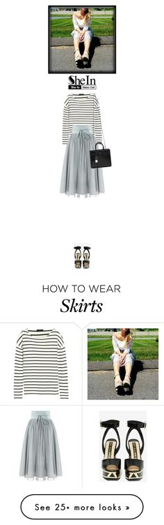 """""""Shein"""" by admittittome on Polyvore featuring J.Crew, Kat Maconie and Yves Saint Laurent"""