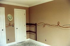 LOVE!!!!!!http://smartdecorpainting.co/Childrenrooms/Cowboy-room