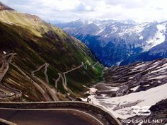 Look at that! The Stelvio Pass of course...#motorcycle #tour #italy