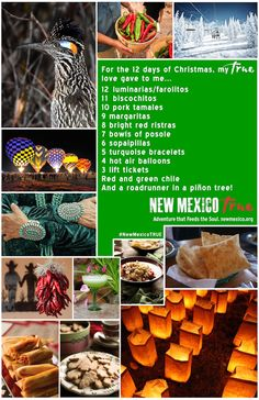 The Twelve Days of New Mexico Christmas
