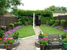 Beautiful Back Garden Design