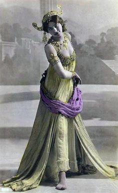 1906:  Mata Hari by Lucien Walery