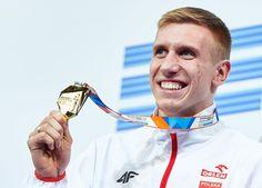 Piotr Lisek - złoty medal w skoku o tyczce