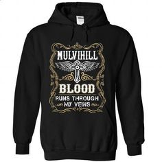 MULVIHILL - Blood  - #geek hoodie #neck sweater. BUY NOW => https://www.sunfrog.com/Names/MULVIHILL--Blood-1242-Black-55571476-Hoodie.html?68278