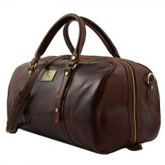 Francoforte - Tuscany Leather - Exclusive Leather Weekender Travel Bag - Bags For Business