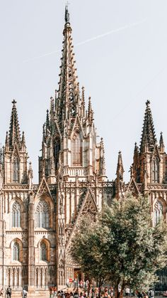 Barcelona City, Barcelona Cathedral, Aerial Photography, Landscape Photography, Gothic Buildings, Urban Architecture, Holy Cross, Famous Landmarks, Summer Travel