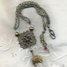 Crowning Glory - The Necklace  $185.00  www.parispanacheantiques.com